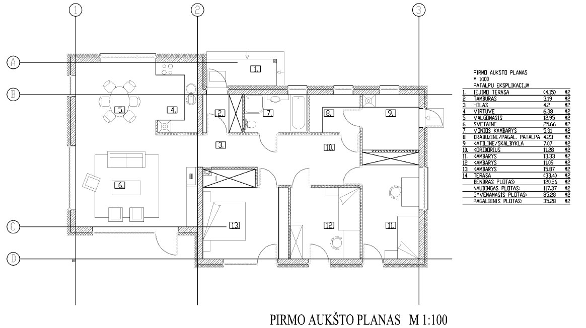 Passive houses project